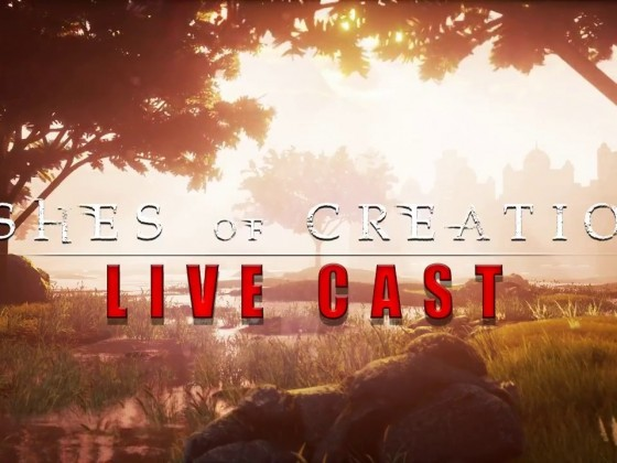 Ashes of Creation: LiveStream 7-18-2017 *Speedplay Arena Build*